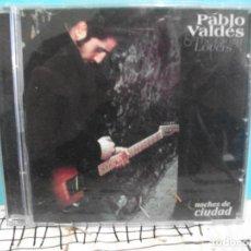 CDs de Música: PABLO VALDES NOCHES DE CIUDAD CD ALBUM SANTO GRIAL ASTURIAS. Lote 140775154