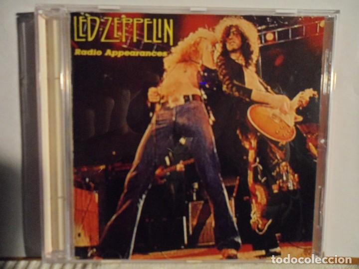 LED ZEPPELIN - RADIO APPEARANCES - LIVE STOCKHOLM 1969 (Música - CD's Rock)