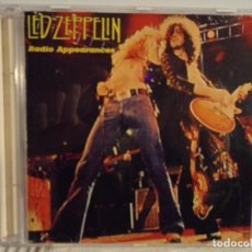 CDs de Música: LED ZEPPELIN - RADIO APPEARANCES - LIVE STOCKHOLM 1969. Lote 140775994