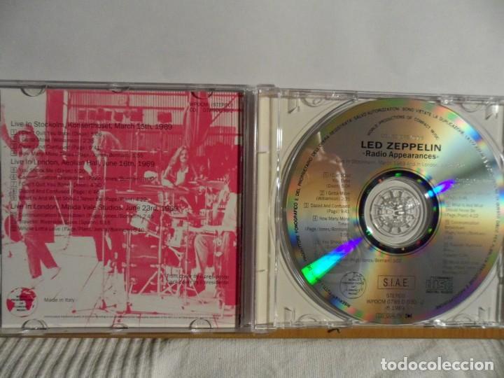 CDs de Música: LED ZEPPELIN - RADIO APPEARANCES - LIVE STOCKHOLM 1969 - Foto 2 - 140775994
