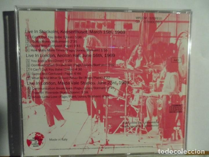 CDs de Música: LED ZEPPELIN - RADIO APPEARANCES - LIVE STOCKHOLM 1969 - Foto 3 - 140775994