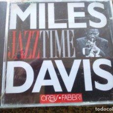 CDs de Música: CD -- DAVIS MILES -- JAZZ TIME -- 9 TEMAS -- NUEVO -- . Lote 140858930