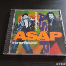 CDs de Música: ASAP - TRANSMISSION - CD ALBUM - SONY - 1994. Lote 140863310