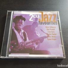 CDs de Música: JAZZ FAVOURITES - DOBLE CD ALBUM - DISKY - 1998. Lote 140864150