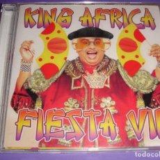 CDs de Música: KING AFRICA / FIESTA VIP / GRANDES ÉXITOS / LO MEJOR DE / CD. Lote 140886154