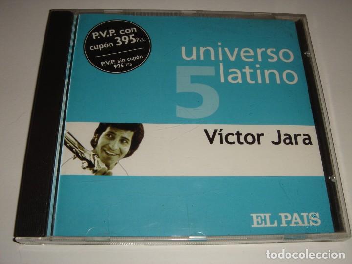 VICTOR JARA / UNIVERSO LATINO 5 / EL PAÍS / CD (Música - CD's Country y Folk)