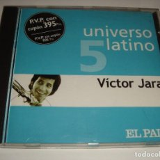 CDs de Música: VICTOR JARA / UNIVERSO LATINO 5 / EL PAÍS / CD. Lote 140887342