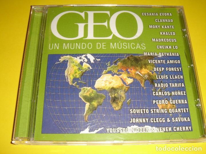GEO / UN MUNDO DE MÚSICAS / REVISTA GEO / CD (Música - CD's World Music)