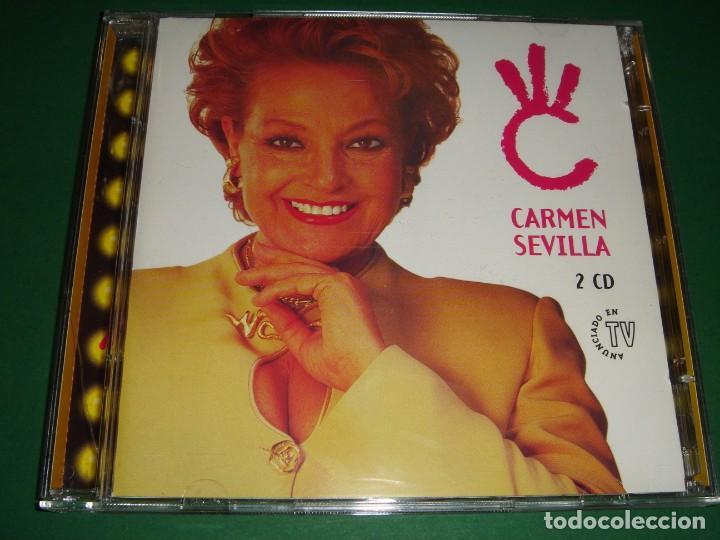 CARMEN SEVILLA / GRANDES ÉXITOS / LO MEJOR DE / EMI ODEON / 2 CD (Música - CD's Flamenco, Canción española y Cuplé)
