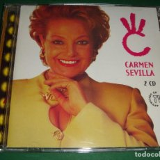 CDs de Música: CARMEN SEVILLA / GRANDES ÉXITOS / LO MEJOR DE / EMI ODEON / 2 CD. Lote 140889462