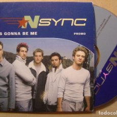 CDs de Música: NSYNC IT'S GONNA BE ME - CD SINGLE PROMOCIONAL 2000 - VIRGIN. Lote 140909870