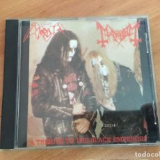 CDs de Música: MORBID MAYHEM (A TRIBUTE TO THE BLACK EMPERORS) CD 8 TRACK (CDI23). Lote 140916226