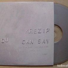 CDs de Música: KREZIP YOU CAN SAY / REARRANGE - CD SINGLE 2002 - WARNER. Lote 140928166