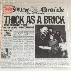 CDs de Música: JETHRO TULL: THICK AS A BRICK - JAPAN MINI LP DIGIPACK *IMPECABLE*. Lote 137717338