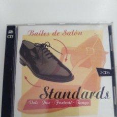 CDs de Música: BAILES DE SALON STANDARDS 2CD ( 1998 PDI ) EXCELENTE ESTADO. Lote 140949042