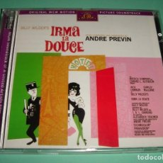 CDs de Música: IRMA LA DOUCE / ORIGINAL SOUNDTRACK / BSO / ANDRE PREVIN / IRMA LA DULCE / BILLY WILDER / CD. Lote 140974394