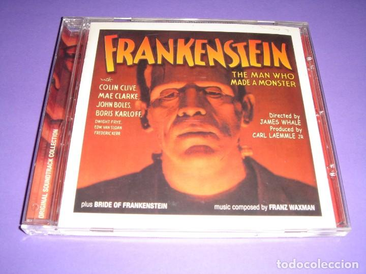 FRANKENSTEIN / ORIGINAL SOUNDTRACK / BSO / BRIDE OF FRANKENSTEIN / FRANZ WAXMAN / CD (Música - CD's Bandas Sonoras)