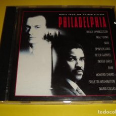 CDs de Música: PHILADELPHIA / ORIGINAL SOUNDTRACK / BSO / BANDA SONORA / BRUCE SPRINGSTEEN / CD. Lote 140976158