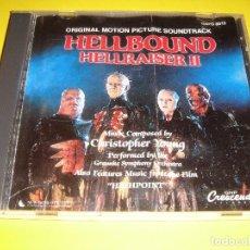 CDs de Música: HELLRAISER II / ORIGINAL SOUNDTRACK / 2 / BSO / BANDA SONORA / HELLBOUND / CHRISTOPHER YOUNG / CD. Lote 140984158