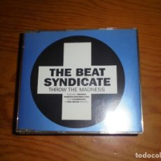 CDs de Música: THE BEAT SYNDICATE. THROW THE MADNESS. EMI, 1996 . CD SINGLE. (#). Lote 140993294