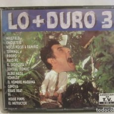 CDs de Música: LO + DURO 3 - 2 X CD - TECHNO, HOUSE - 1994 - SPAIN - EX+/EX+. Lote 141033042