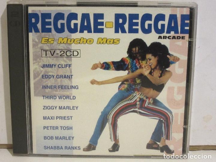 REGGAE-REGGAE - ES MUCHO MAS - 2 X CD - 1993 - SPAIN - EX+/EX+ (Música - CD's Reggae)