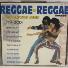 CDs de Música: REGGAE-REGGAE - ES MUCHO MAS - 2 X CD - 1993 - SPAIN - EX+/EX+. Lote 141037806