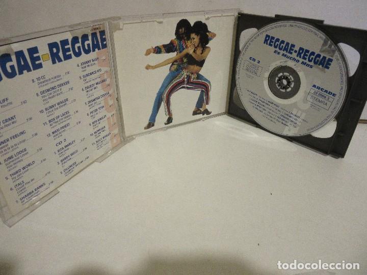 CDs de Música: Reggae-Reggae - Es Mucho Mas - 2 x CD - 1993 - Spain - EX+/EX+ - Foto 4 - 141037806