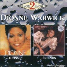 CDs de Música: DIONNE WARWICK - DIONNE / FRIENDS - 2XCD . Lote 141181218