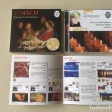 CD de Música: JOHANN SEBASTIAN BACH - JÉSUS QUE MA JOIE DEMEURE (CD) INGER SÖDERGREN (PIANO). Lote 141186014