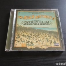 CDs de Música: FATBOY SLIM AND MIDFIELD GENERAL - BIG BEACH BOUTIQUE II - CD ALBUM - SOUTHERN FRIED RECORDS - 2002. Lote 141206178