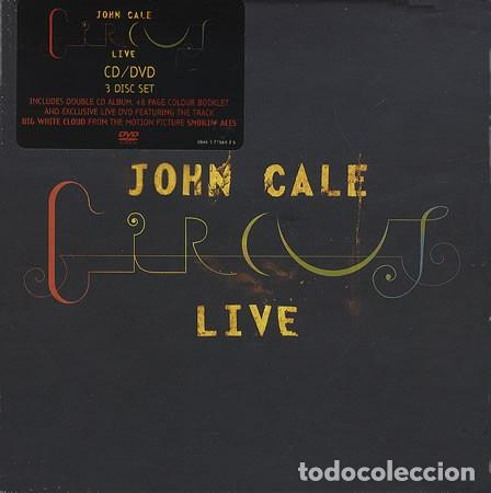 JOHN CALE - CIRCUS LIVE - 2XCD + DVD (Música - CD's Rock)