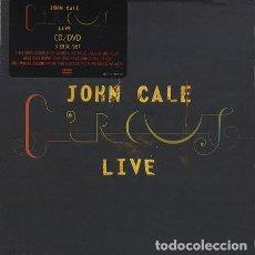 CDs de Música: JOHN CALE - CIRCUS LIVE - 2XCD + DVD. Lote 141215106