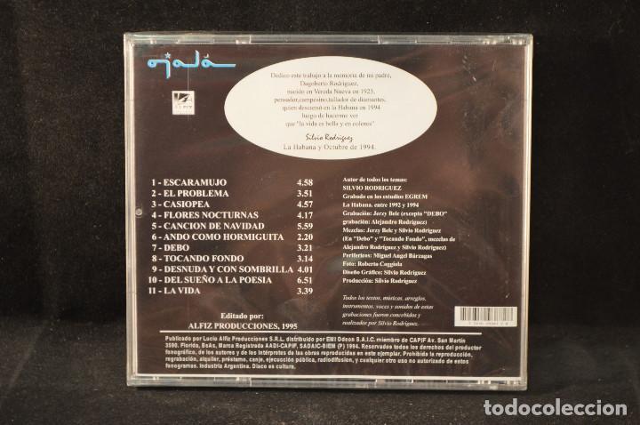 CDs de Música: SILVIO RODRIGUEZ - RODRIGUEZ - CD - Foto 2 - 141231050