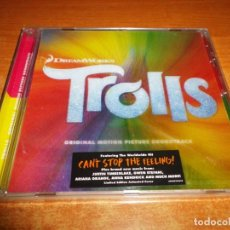 CDs de Música: TROLLS BANDA SONORA CD ALBUM PRECINTADO 2016 EU JUSTIN TIMBERLAKE GWEN STEFANI ARIANA GRANDE 13TEMAS. Lote 141236086