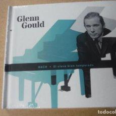CDs de Música: CD GLENN GOULD BACH EL CLAVE BIEN TEMPERADO. Lote 141240302