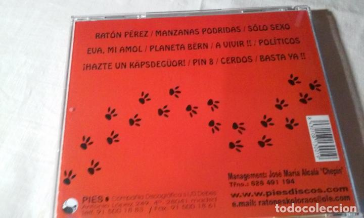 CDs de Música: RATONES KOLORAOS -CD ROCK-PUNK- PRIMER TRABAJO DEL GRUPO - Foto 4 - 141258314