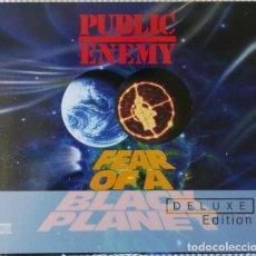 CDs de Música: PUBLIC ENEMY * 2CD DELUXE EDITION * LTD DIGIPACK * FEAR OF A BLACK PLANET * PRECINTADO. Lote 141265814