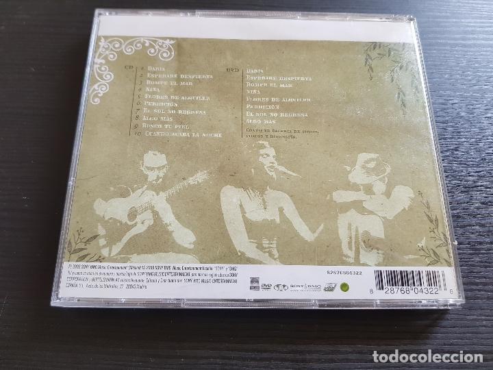 CDs de Música: LA QUINTA ESTACIÓN - ACÚSTICO - CD ALBUM + DVD - SONY - 2006 - Foto 2 - 141309046