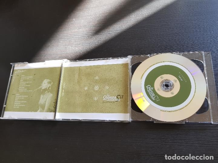 CDs de Música: LA QUINTA ESTACIÓN - ACÚSTICO - CD ALBUM + DVD - SONY - 2006 - Foto 4 - 141309046