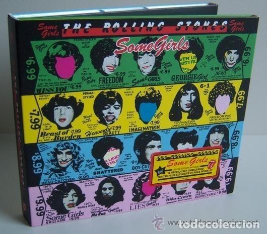 CDs de Música: THE ROLLING STONES * SOME GIRLS * DELUXE EDITION 2011 * DIGIPACK EDITON * PRECINTADO - Foto 5 - 179095153