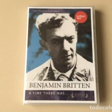 CDs de Música: BENJAMIN BRITTEN - A TIME THERE WAS.....(DVD) TONY PALMER. Lote 141312662