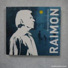 CDs de Música: RAIMON - RELLOTGE D'EMOCIONS - CD 2011. Lote 141327802