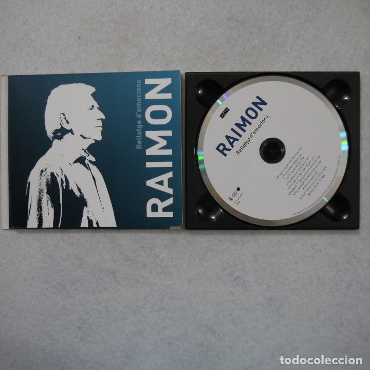CDs de Música: RAIMON - RELLOTGE D'EMOCIONS - CD 2011 - Foto 2 - 141327802