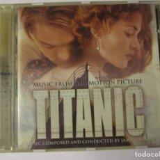 CDs de Música: CD TITANIC BANDA SONORA AÑO 1997. Lote 141339538