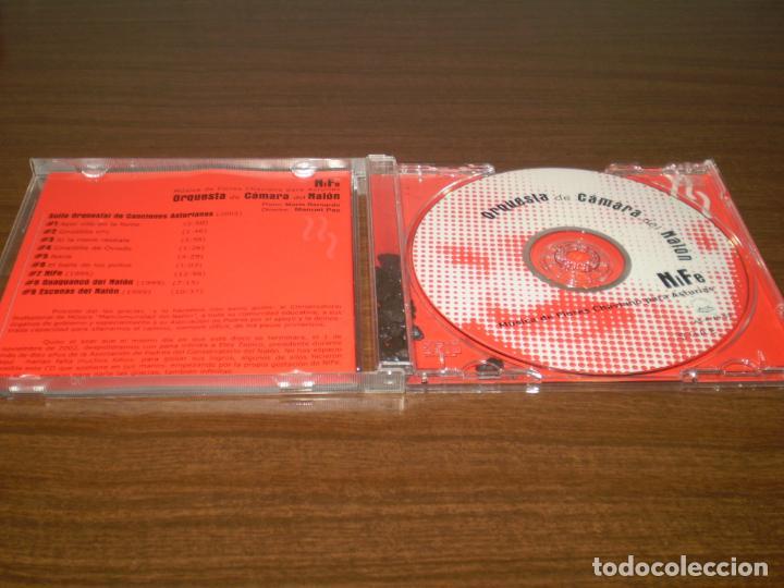 CDs de Música: CD ORQUESTA DE CAMARA DEL NALON- MUSICA DE FLORES CHAVIANO PARA ASTURIAS - Foto 4 - 141393678