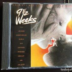 CDs de Música: CD BSO OST BANDA SONORA 9 1/2 WEEKSNUEVE SEMANAS Y MEDIA. Lote 141397410