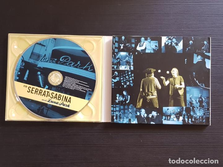 CDs de Música: SERRAT & SABINA - EN EL LUNA PARK - CD ALBUM + DVD - SONY - 2012 - Foto 3 - 141442094