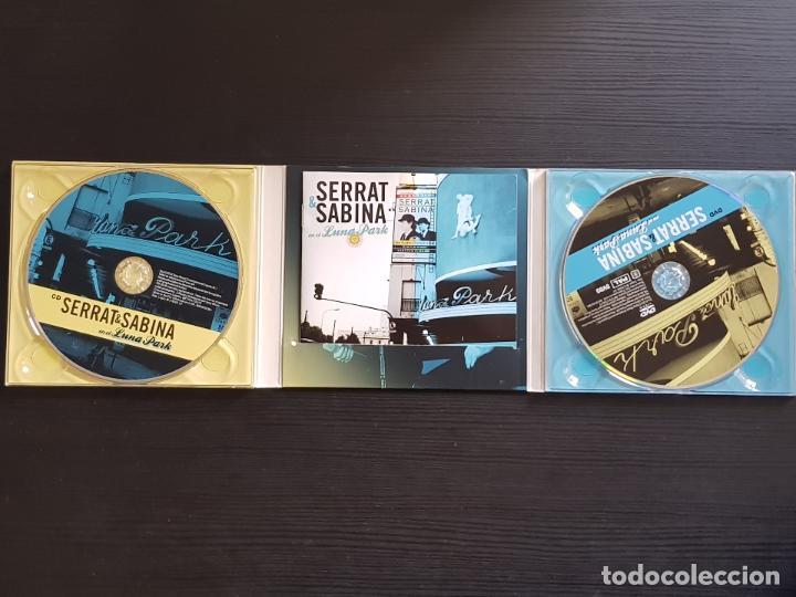 CDs de Música: SERRAT & SABINA - EN EL LUNA PARK - CD ALBUM + DVD - SONY - 2012 - Foto 4 - 141442094
