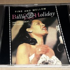 CDs de Música: CD - BILLIE HOLIDAY - FINE AND MELLOW - BILLIE HOLIDAY. Lote 141446678